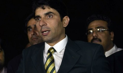 Misbah hits out