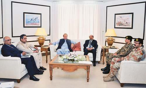 Sharif approves expansion of operation in Sindh