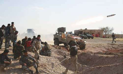 US launches air strikes in Tikrit