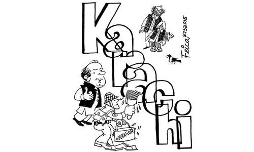 Cartoon: 27 March, 2015