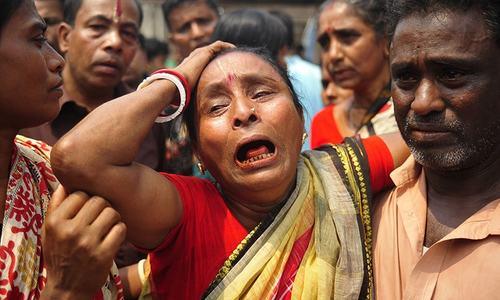 Stampede at Hindu festival kills 10 devotees