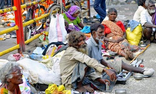 ہندوستان: بھکاریوں کا انوکھا تھیٹر