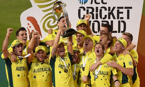آسٹریلیا پھر فاتحِ عالم