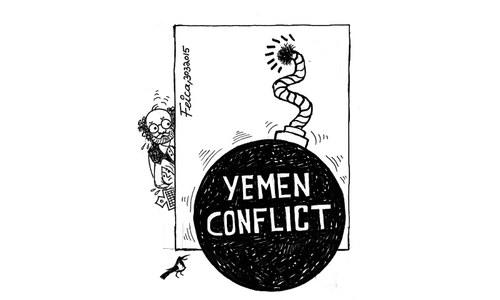 Cartoon: 30 March, 2015