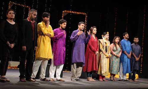Napa International Theatre Fest: 'Tum Kaun'—Karachi-Delhi-Karachi