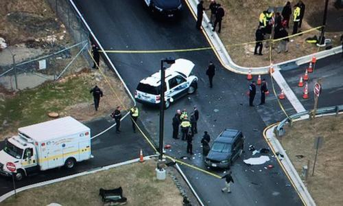 Shooting incident near NSA headquarters kills one, injures another