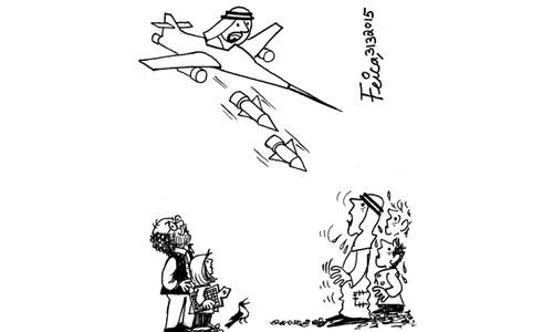 Cartoon: 31 March, 2015