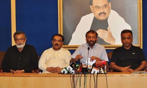 PTI eyeing Karachi mandate at the  behest of establishment: MQM