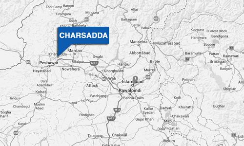 Charsadda traders protest 'illegal' razing of shops