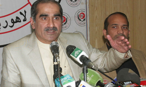 Saad Rafiq testifies before election tribunal