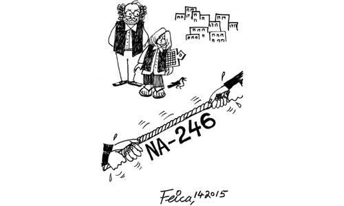 Cartoon: 1 April , 2015