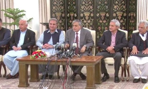 PTI, PML-N sign agreement to form poll inquiry commission
