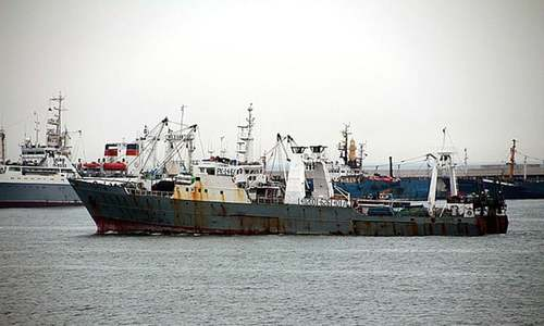 At least 43 dead as Russian trawler sinks