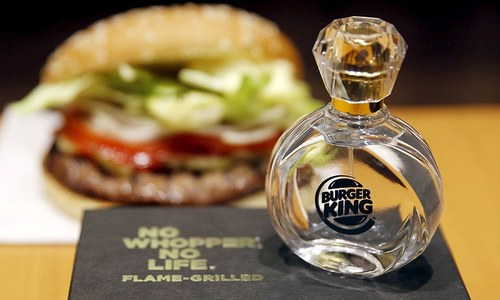 'Spicy' scent of a Burger King store entices cologne buyers