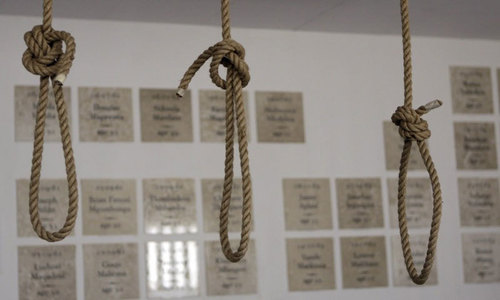 Military courts announce death sentences of six convicts