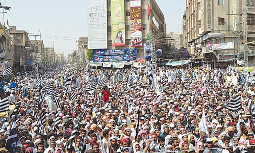 JUI-F rally warns govt against targeting seminaries, ulema