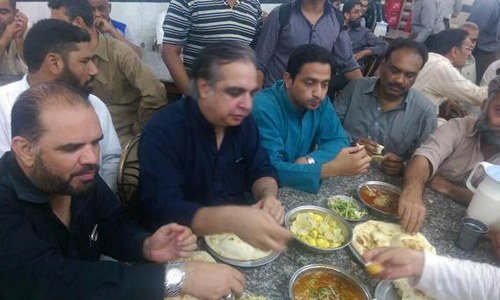 Nihari turned sour for PTI's Imran Ismail
