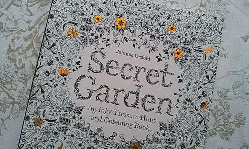 Colouring books for adults top Amazon best-seller list