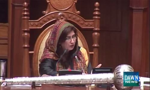 Laughter in Sindh Assembly over 'ammi, beta' remarks