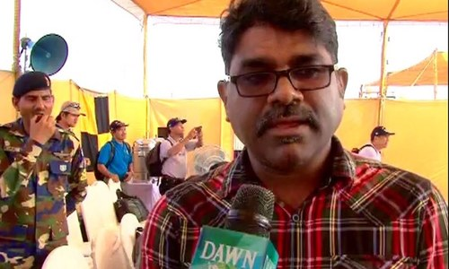 Kerala-based citizen Ratan - DawnNews screen grab