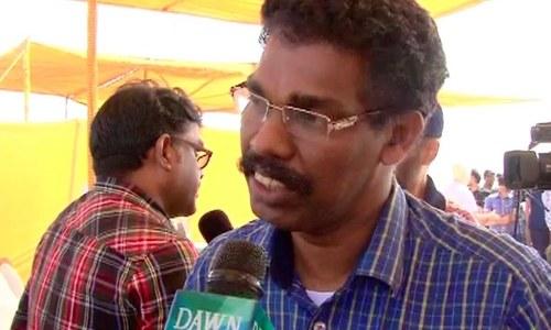 Indian citizen Paul - DawnNews screen grab