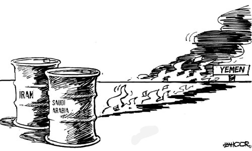 Cartoon: 8 April, 2015