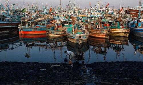 Karachi's poisons — an ocean of filth