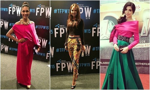 PFDC fashion week: Are we overdoing the red carpet trend of dressing muses?