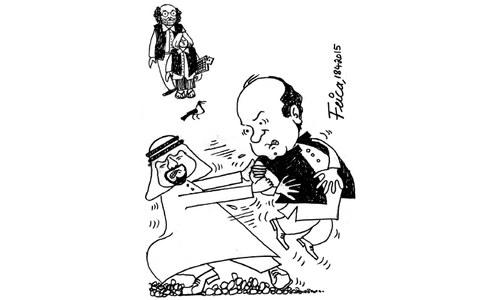 کارٹون: 18 اپریل 2015