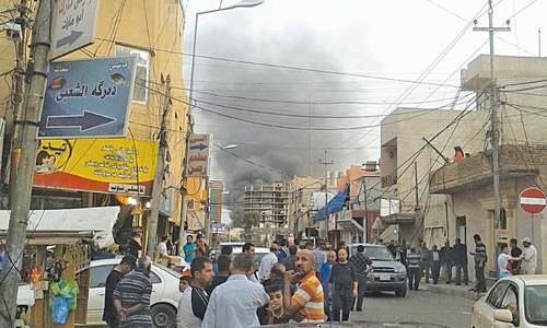 Wave of bombings kills 40 people in Baghdad