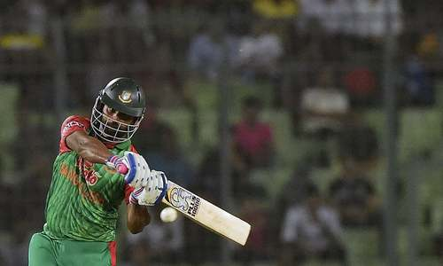 Mushfiq departs with Bangladesh on the brink of history