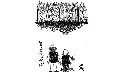Cartoon: 20 April, 2015