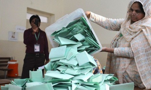 Karachi's by-election