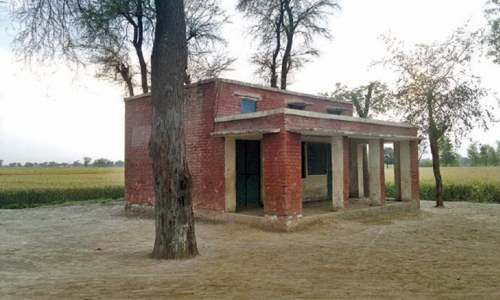 Village school: expose of govt indifference