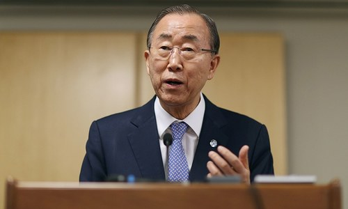 UN chief wants Israelis and Palestinians back to table