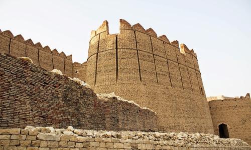 Kot Diji Fort: A symbol of the Talpur dynasty