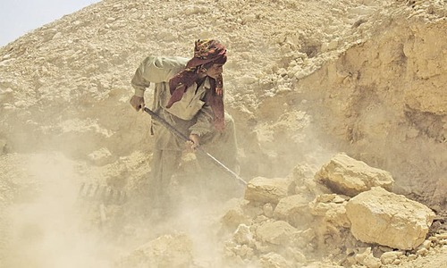 Kot Diji's limestone quarries: Under the grind