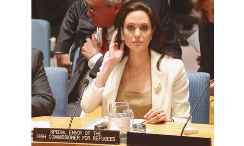 Jolie criticises UN on failure to end crisis