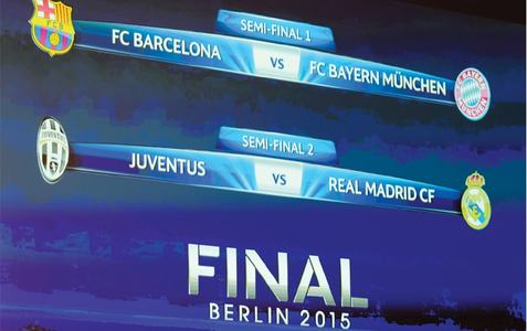 Barca eye Bayern revenge, Real face Juve