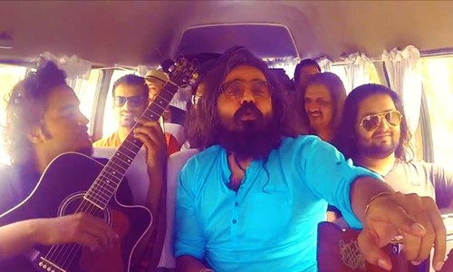 Asrar's 'Mast Hua' is a lively selfie-video