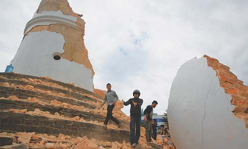 Devastating quake hits Nepal, kills over 1,300