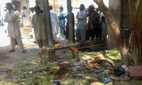 Four killed in Sibi blast