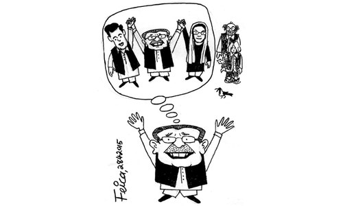Cartoon: 28 April, 2015