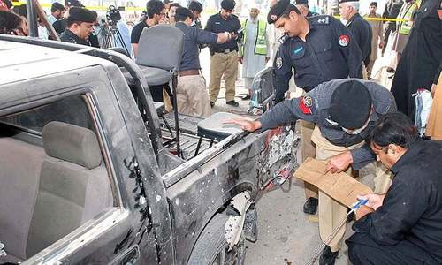 Security official killed, three injured in DI Khan attack