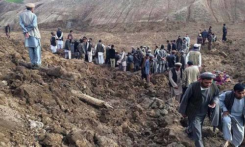 52 feared dead in Afghanistan landslide: officials