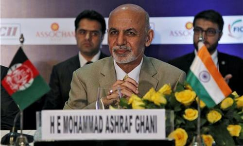 Ghani presses Pakistan to open land transit  trade from India