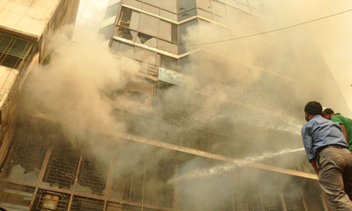 Five Pakistanis killed in Riyadh building fire