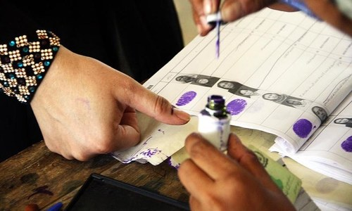 Candidates served notices for barring women from G-B polls
