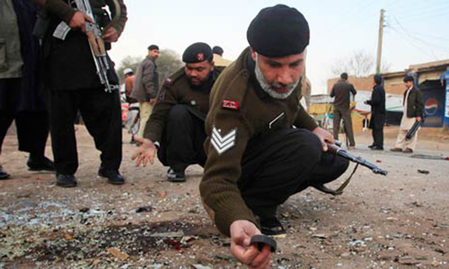 Security official killed, four injured in S Waziristan, Bannu attacks