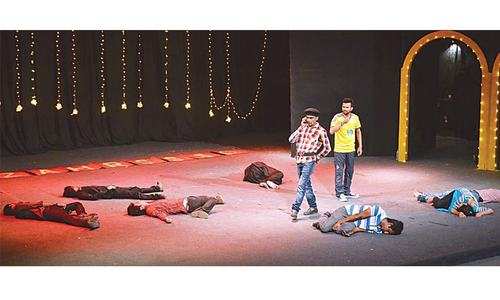 I am Karachi Theatre Series: Madya not Medya—media through the lens of satire